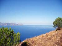 splendida veduta da monte catalfano sul golfo di palermo. BAGHERIA gaetano di stefano