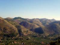 zona montuosa nei pressi di altofonte PALERMO gaetano di stefano