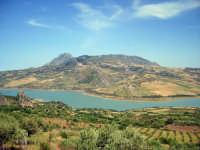 lago rosamarina e monte s.calogero  - Ventimiglia di sicilia (6693 clic)