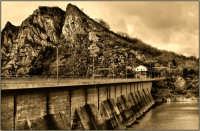 La diga Sartori che forma il lago di Ancipa  - Troina (5162 clic)