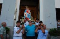 Festa Maria SS di Portosalvo, sabato 2 agosto 2008, processione a mare  - Santa teresa di riva (2898 clic)