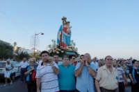 Festa Maria SS di Portosalvo, sabato 2 agosto 2008, processione a mare  - Santa teresa di riva (3070 clic)