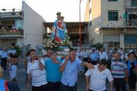 Festa Maria SS di Portosalvo, sabato 2 agosto 2008, processione a mare  - Santa teresa di riva (2612 clic)