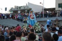 Festa Maria SS di Portosalvo, sabato 2 agosto 2008, processione a mare  - Santa teresa di riva (3486 clic)