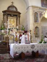 Festa della Vara 2007 - Festa 12 Agosto 2007 - L'inizio del solenne pontificale  - Fiumedinisi (4383 clic)
