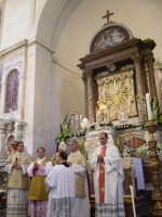 Festa della Vara 2007 - Festa 12 Agosto 2007 - Un momento della Santa Messa solenne  - Fiumedinisi (5057 clic)