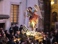 Festa Annunziata 2007. La statua dell'Arcangelo Gabriele, che fa parte del corteo processionale.  - Fiumedinisi (14313 clic)