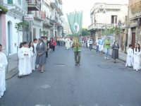 Corpus Domini 2007 - Un momento della processione  - Alì terme (5366 clic)