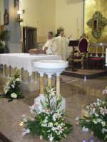 Giovedì Santo 2007. Un momento della Santa Messa nella quale viene rievocata l'ultima cena di Cristo.  - Alì terme (3958 clic)