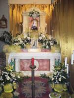 Giovedì Santo 2007. Sepolcro nella chiesa parrocchiale di San Rocco.  - Alì terme (5717 clic)