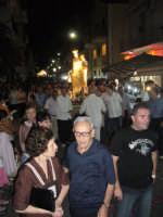 Festa Madonna Del Carmelo 2007 - La processione percorre il centro del paese  - Santa teresa di riva (5714 clic)