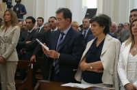 Inaugurazione Cattedrale di Noto. 18 giugno 2007. Romano Prodi e consorte.  - Noto (1950 clic)