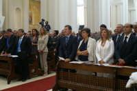 Inaugurazione Cattedrale di Noto. 18 giugno 2007. Le autorità in prima fila.  - Noto (1916 clic)