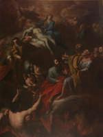 Ragusa Ibla - Chiesa del Purgatorio - Madonna, Santi e Anime del Purgatorio - autore: Francesco Mann