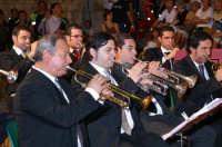 Inaugurazione Cattedrale di Noto. 18 giugno 2007. Il concerto serale. In primo piano con la tromba il Maestro Carmelo Fede.  - Noto (4810 clic)