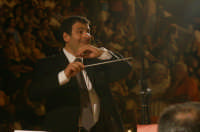 Inaugurazione Cattedrale di Noto. 18 giugno 2007. Il maestro Di Stefano dell'Italian Brass Band.  - Noto (1884 clic)