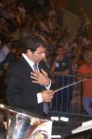 Inaugurazione Cattedrale di Noto. 18 giugno 2007. Il Maestro Di Stefano dell'Italian Brass Band  - Noto (2328 clic)