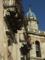 Ragusa Ibla - Palazzo della cancelleria e campanile S. Maria dell'Itria   - Ragusa (2386 clic)