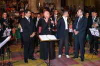 Inaugurazione Cattedrale di Noto. 18 giugno 2007. L'intervento del Vescovo Mons. malandrino alla fine del concerto serale.  - Noto (2504 clic)