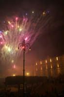 Inaugurazione Cattedrale di Noto. 18 giugno 2007. In conclusione i fuochi d'artificio  - Noto (2274 clic)