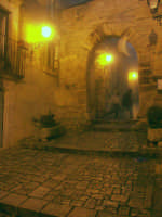 Arco dell'Annunziata di notte CHIARAMONTE GULFI SALVATORE BRANCATI