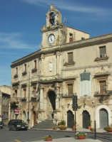 Ex collegio dei Gesuiti - sede comunale  - Mineo (3315 clic)