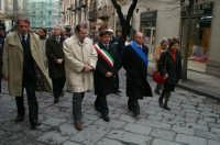 Real Maestranza a Caltanissetta:le autorità in processione con il Santissimo CALTANISSETTA SALVATORE