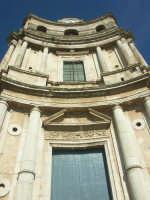 Facciata della chiesa di San Pietro  - Mineo (3397 clic)