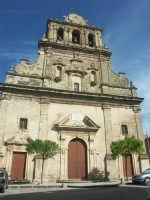 Facciata della chiesa di Santa Maria Maggiore  - Mineo (4858 clic)