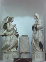 Modica - Chiesa del Carmine - Annunciazione del Gagini MODICA SALVATORE BRANCATI
