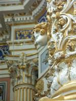 Modica - Interno S. Pietro - particolare degli stucchi  - Modica (1551 clic)