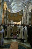 Giovedi Santo, un momento della Messa in Coena Domini in Cattedrale  - Caltanissetta (2352 clic)