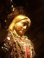 Festa di San Sebastiano - simulacro di San Sebastiano - particolare  - Melilli (4806 clic)
