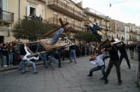 Venerdì Santo a Licodia Eubea : processione del Circello a ncranata - foto S. Brancati  - Licodia eubea (9166 clic)