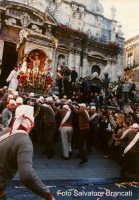 Festa di San Sebastiano: l'uscita  - Acireale (1861 clic)