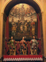 Chiesa Madre, altare di S. Alfio  - Lentini (3202 clic)