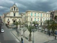 La piazza principale  - Lentini (4466 clic)