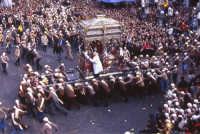 Festa di San Sebastiano, la spettacolare corsa dell'uscita.  - Acireale (3714 clic)