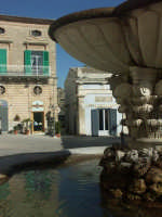 Luoghi del Commissario Montalbano: Fontana a Ragusa Ibla RAGUSA SALVATORE BRANCATI