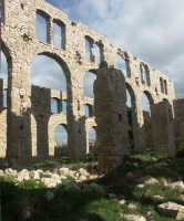 Luoghi del Commissario Montalbano: Sampieri - Interno stabilimento bruciato  - Ragusa (3199 clic)