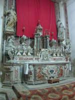 Altare della Chiesa Santa Maria del Carmelo  - Mazzarino (2944 clic)