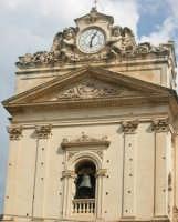 Chiesa Madre - particolare della facciatase CANICATTINI BAGNI SALVATORE BRANCATI