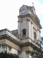 Chiesa Madre San MIchele - particolare della facciata CANICATTINI BAGNI SALVATORE BRANCATI