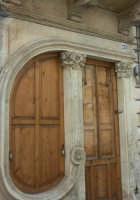 Particolare di un'abitazione in stile liberty  - Canicattini bagni (6739 clic)