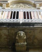 Abitazione in stile liberty, particolare  - Canicattini bagni (3976 clic)