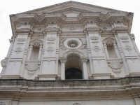 Chiesa Madre - ordine superiore facciata in stile liberty  - Carlentini (6953 clic)