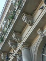 Palazzo ottocentesco - particolare  - Grammichele (2257 clic)