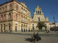 Palazzo Comunale e Chiesa Madre S. Michele  - Grammichele (3446 clic)