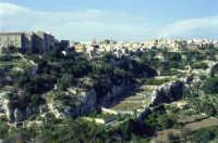 Veduta della città con strada Barriera  - Ispica (1831 clic)