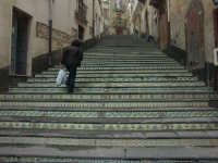 Vizzini: Scalinata Lucio Marineo  - Vizzini (2446 clic)